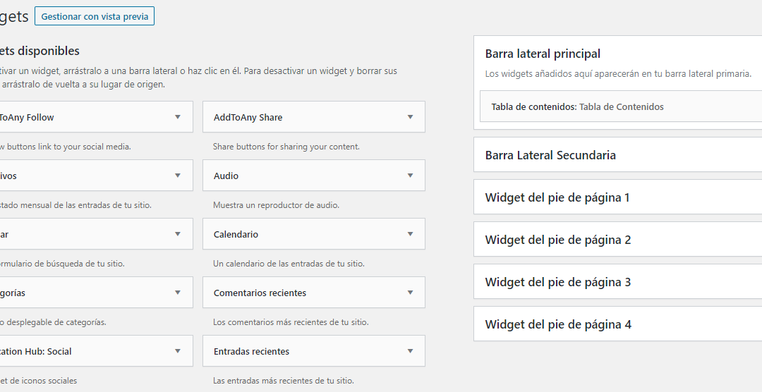 Widgets, ¿qué son?